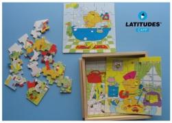 Puzzles Histórias Urso