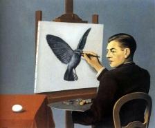 Rene Magritte – La Clairvoyance
