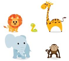 10-chibi-jungle-animals