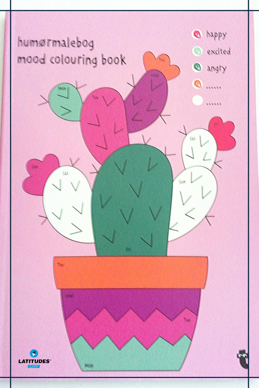 Mood colouring book