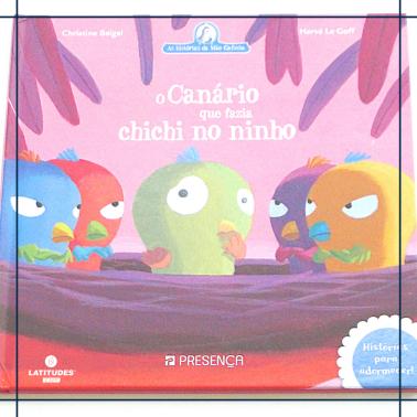 Livro_O canário que fazia chichi no ninho
