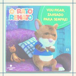 Livro_Rato Renato Vou ficar zangado para sempre
