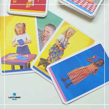 Pocket Color Cards - verbos