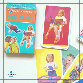 Pocket Color Cards - verbos1