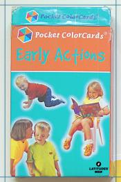 Pocket Color Cards - verbos2
