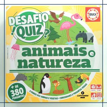 Quiz natureza e animais